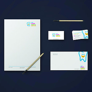 East Atlanta Pediatric Dentistry Stationery Set