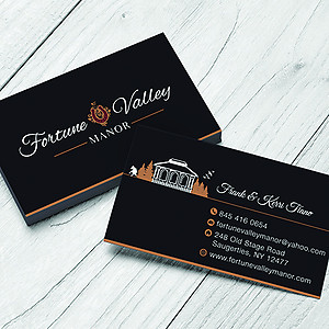 Fortune Valley Manor Business Cards