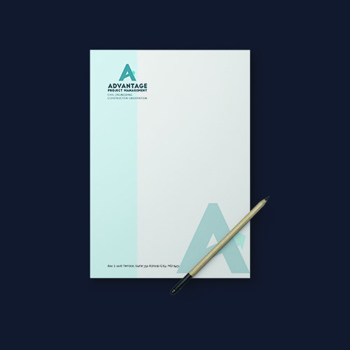 Advantage Project Management, Inc. Letterhead
