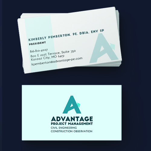 Advantage Project Management, Inc. Business Cards