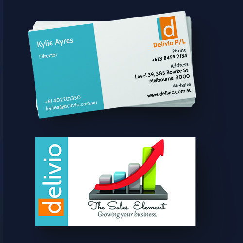 Delivio Business Cards