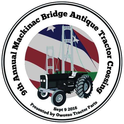 Mackinac Bridge Antique Tractor Crossing 2016