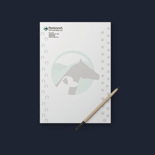 Pembranch Farm and Feed, LLC Letterhead