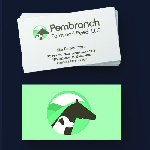 Pembranch Farm and Feed, LLC Business Cards