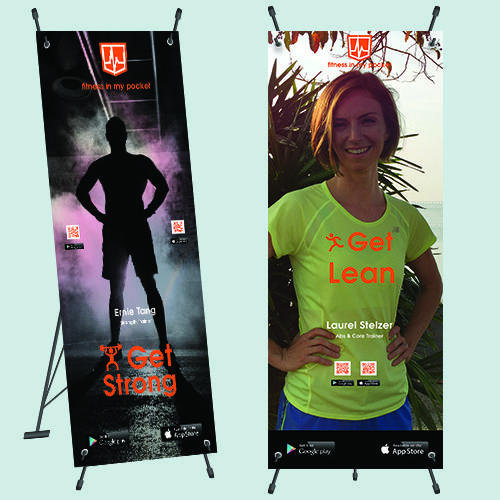 Fitness In My Pocket (FIMP) Banners